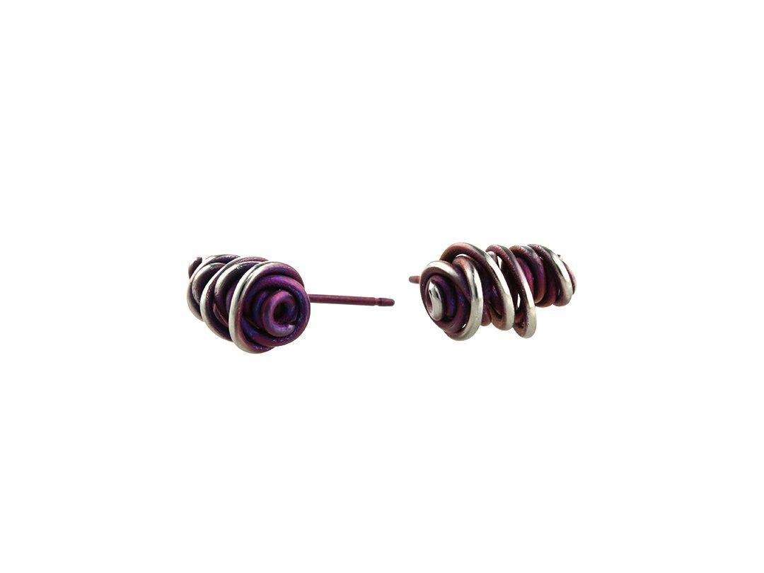 Twisted vine studs on TouchTitanium.com