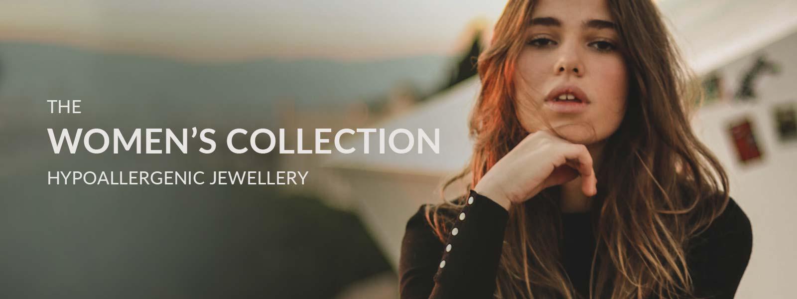 The Women's Collection of Hypoallergenic Titanium Jewellery