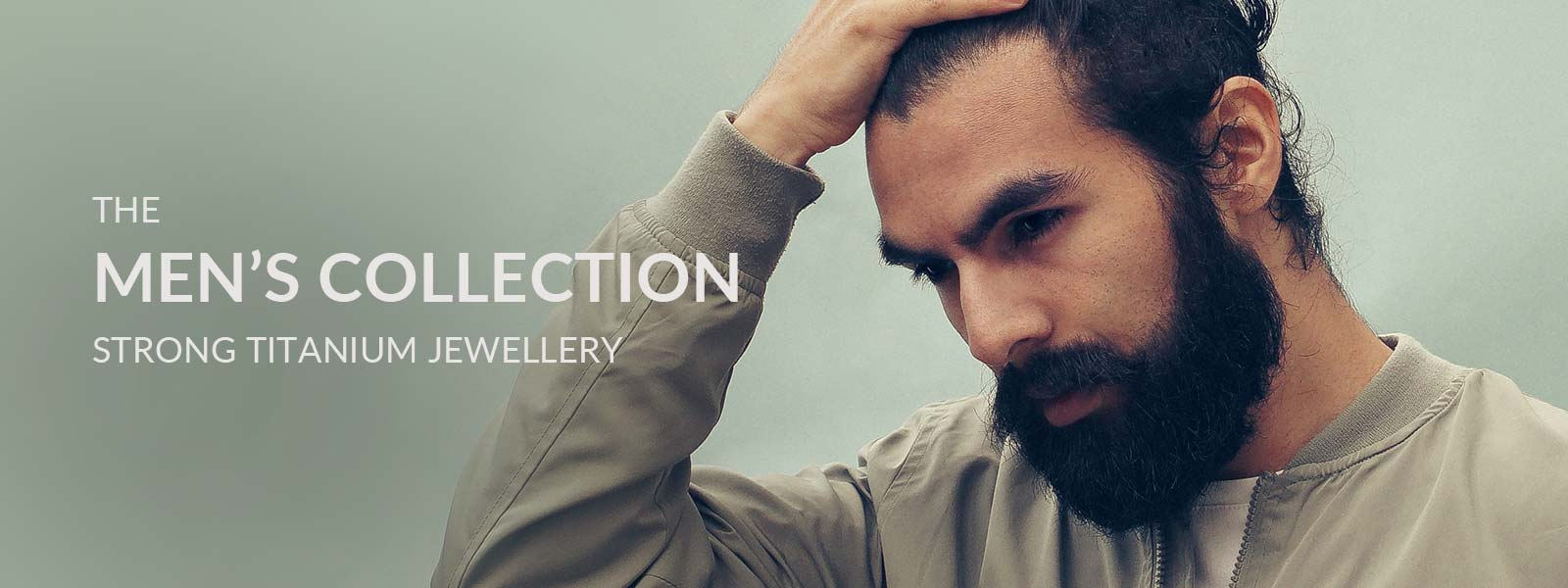 The Mens Collection of Strong Titanium Jewellery